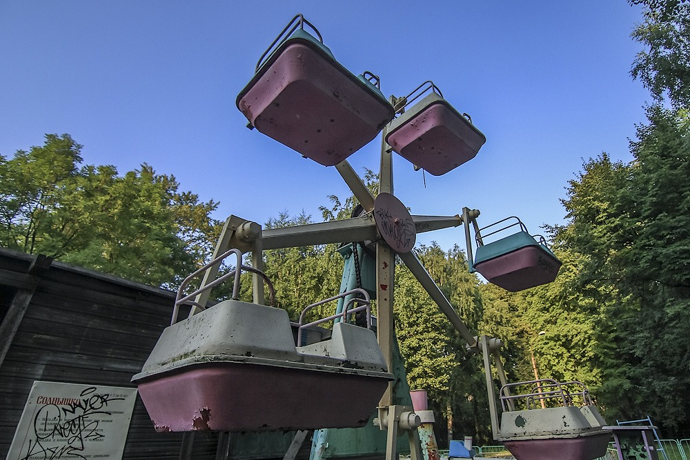 Lost childhood: Abandoned amusement park in Saint Petersburg - 12