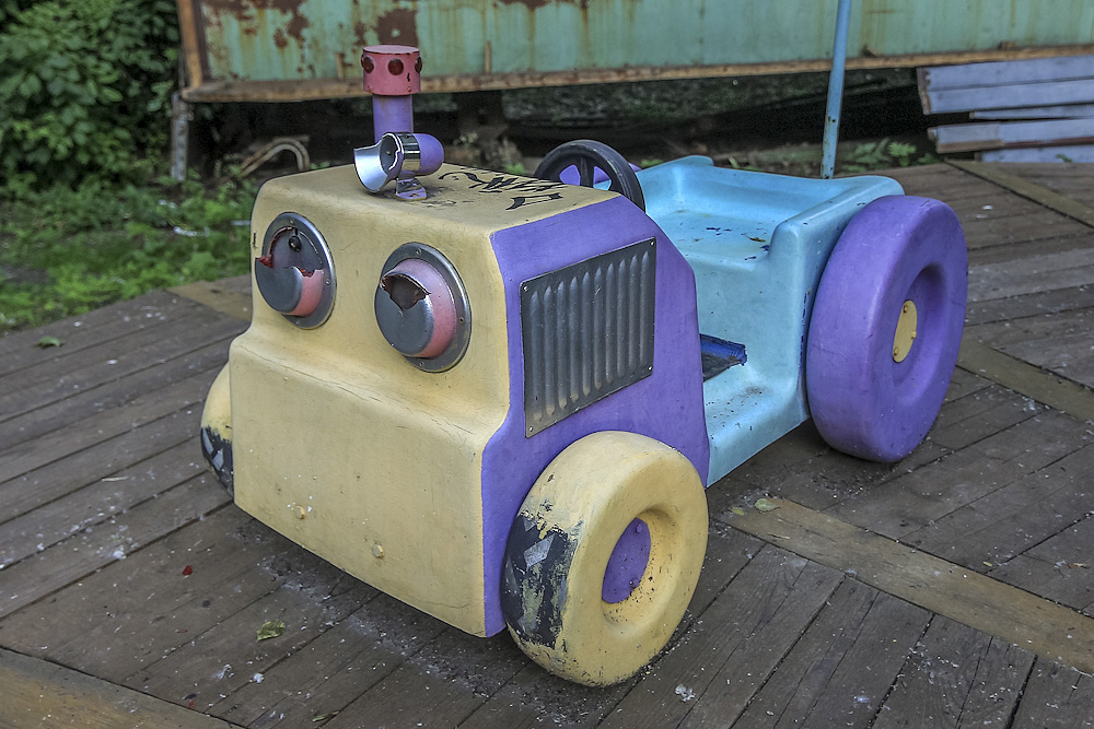 Lost childhood: Abandoned amusement park in Saint Petersburg - 14