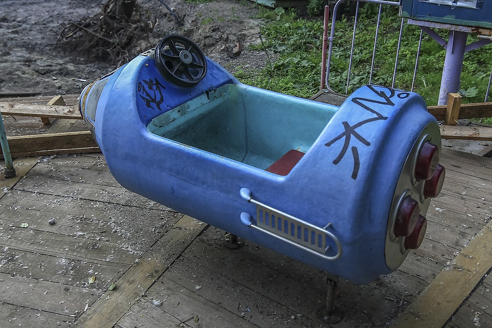 Lost childhood: Abandoned amusement park in Saint Petersburg - 15