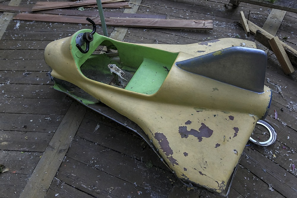 Lost childhood: Abandoned amusement park in Saint Petersburg - 16