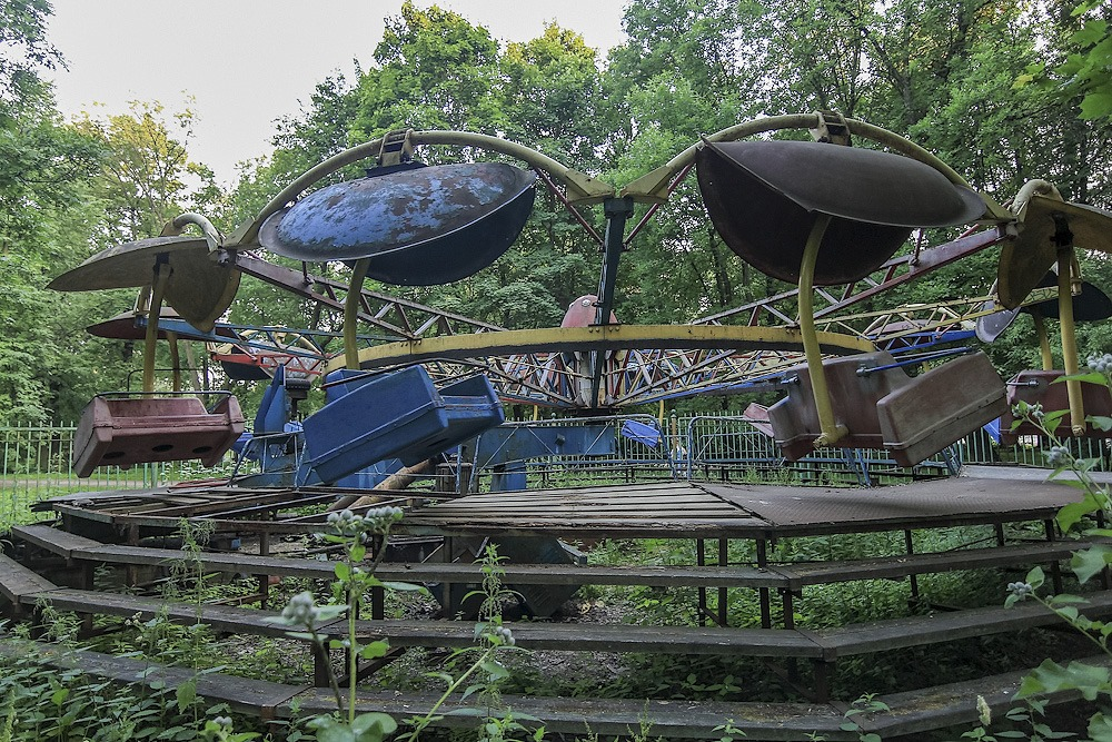 Lost childhood: Abandoned amusement park in Saint Petersburg - 20