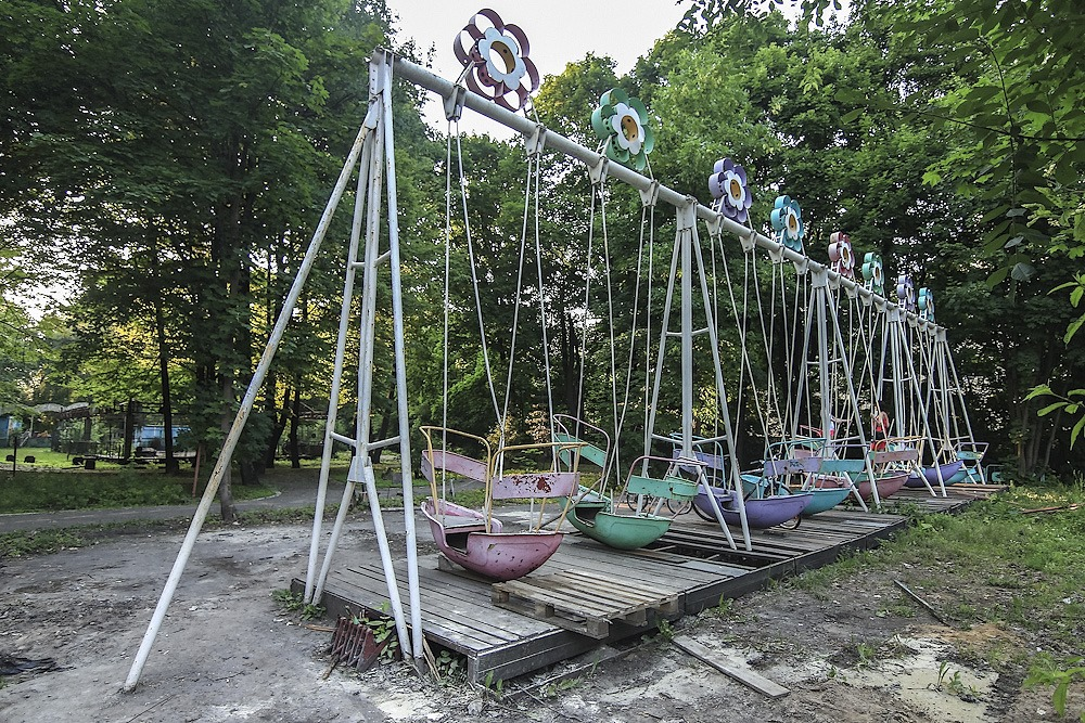 Lost childhood: Abandoned amusement park in Saint Petersburg - 22