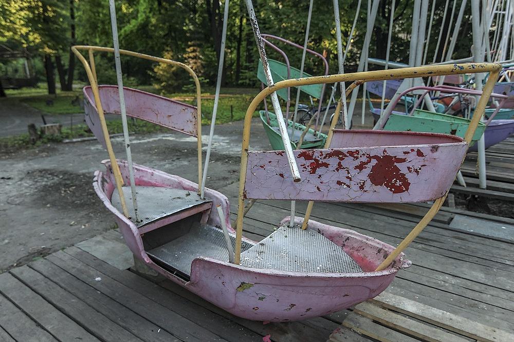 Lost childhood: Abandoned amusement park in Saint Petersburg - 23