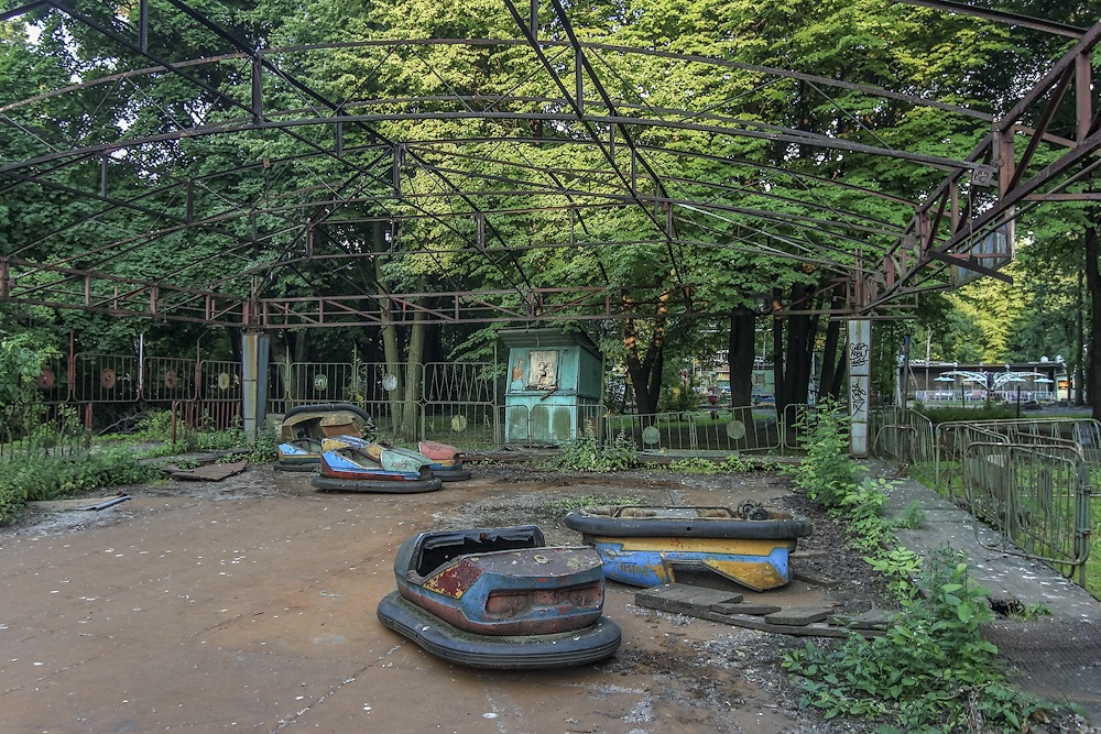 Lost childhood: Abandoned amusement park in Saint Petersburg - 27