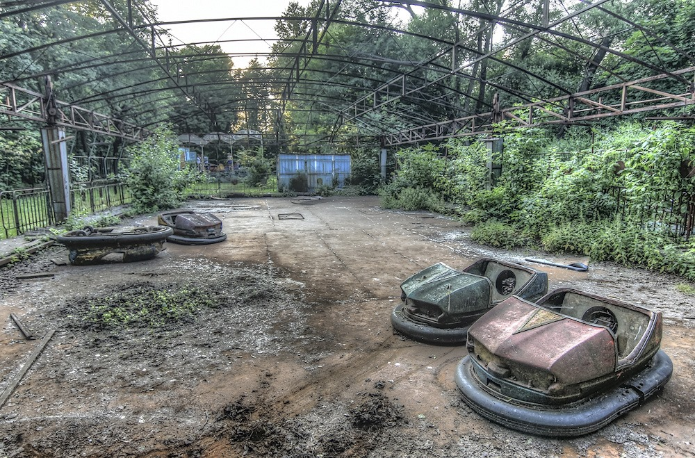 Lost childhood: Abandoned amusement park in Saint Petersburg - 29