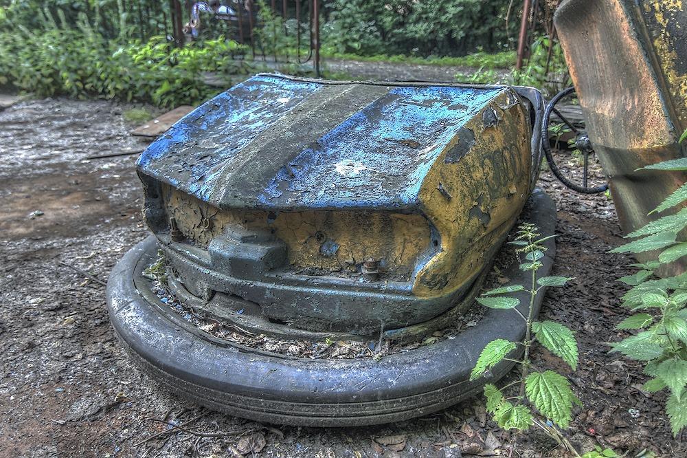 Lost childhood: Abandoned amusement park in Saint Petersburg - 30