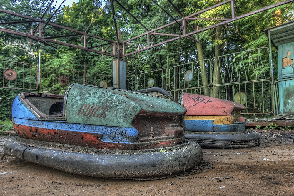 Lost childhood: Abandoned amusement park in Saint Petersburg - 31