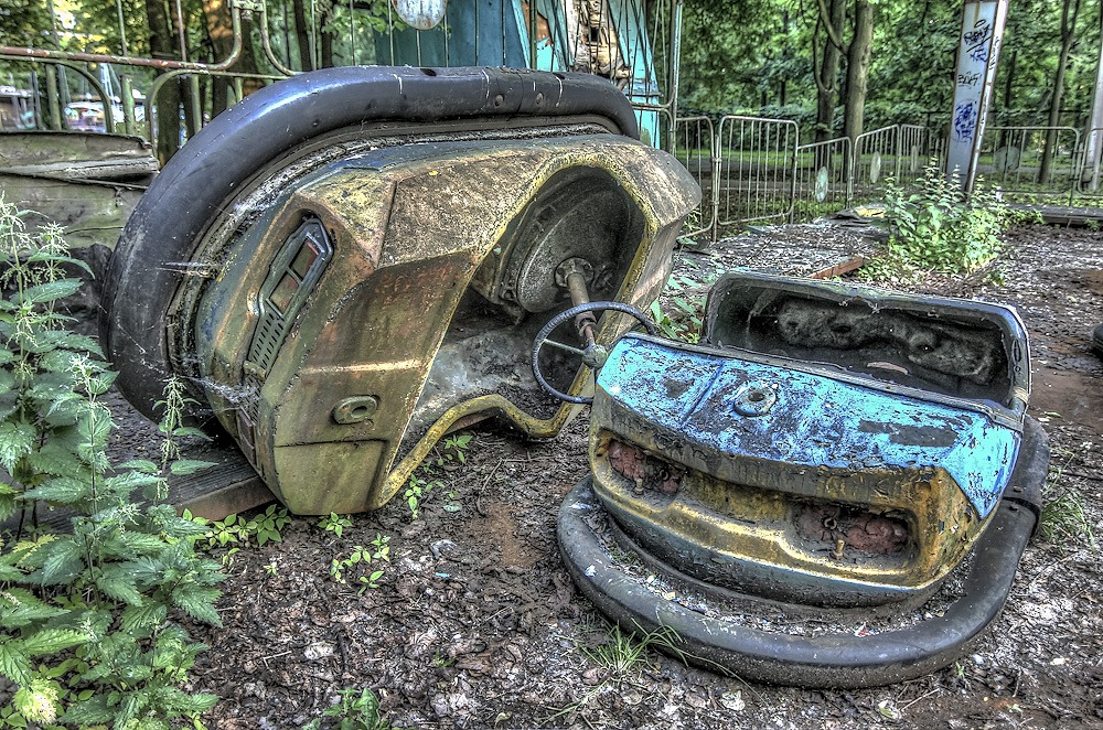 Lost childhood: Abandoned amusement park in Saint Petersburg - 32