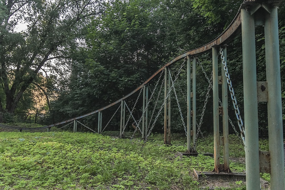 Lost childhood: Abandoned amusement park in Saint Petersburg - 34