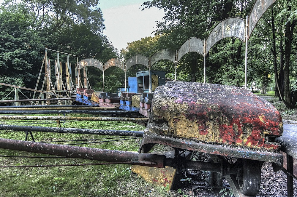 Lost childhood: Abandoned amusement park in Saint Petersburg - 36