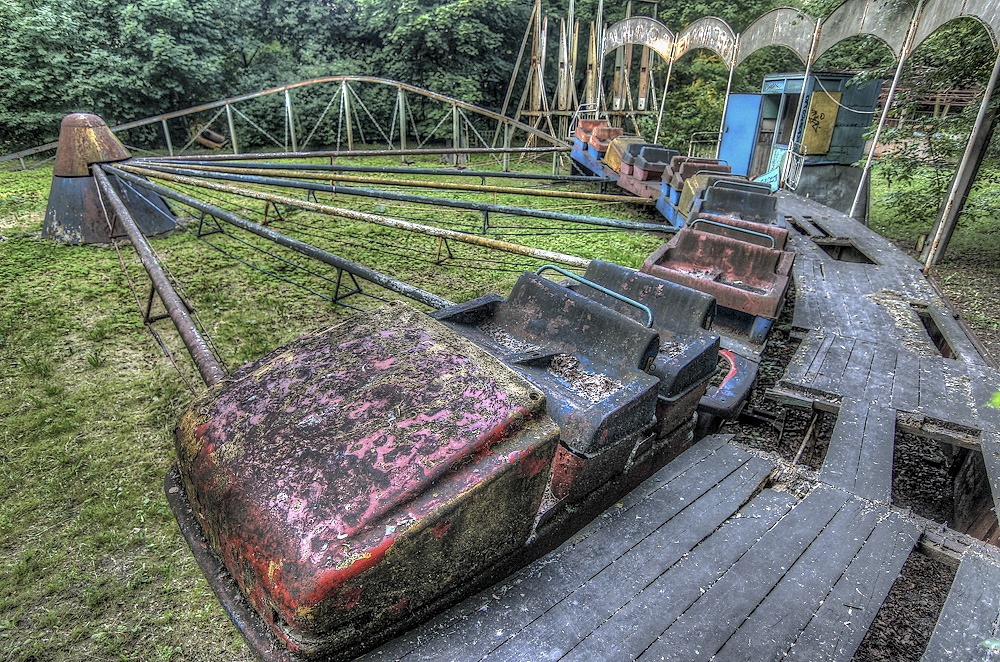 Lost childhood: Abandoned amusement park in Saint Petersburg - 38