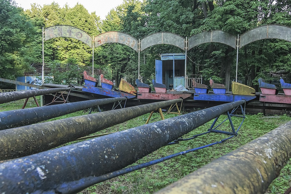 Lost childhood: Abandoned amusement park in Saint Petersburg - 04