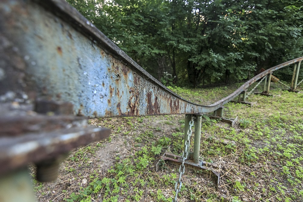 Lost childhood: Abandoned amusement park in Saint Petersburg - 41
