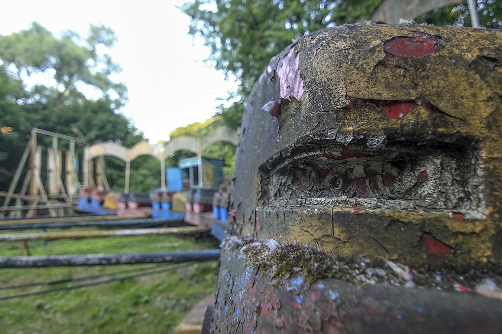 Lost childhood: Abandoned amusement park in Saint Petersburg - 42