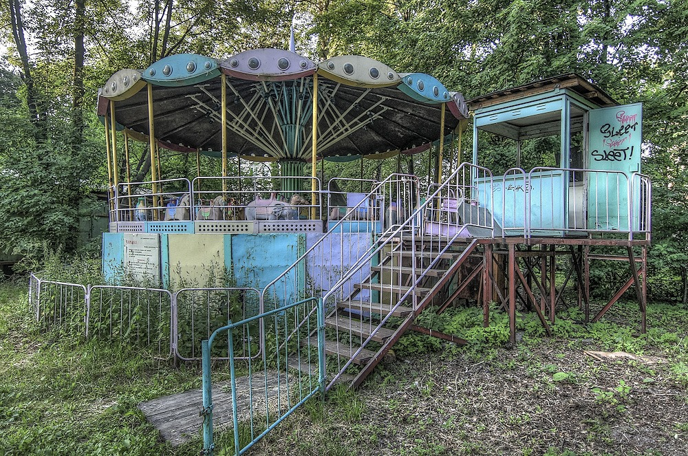 Lost childhood: Abandoned amusement park in Saint Petersburg - 05