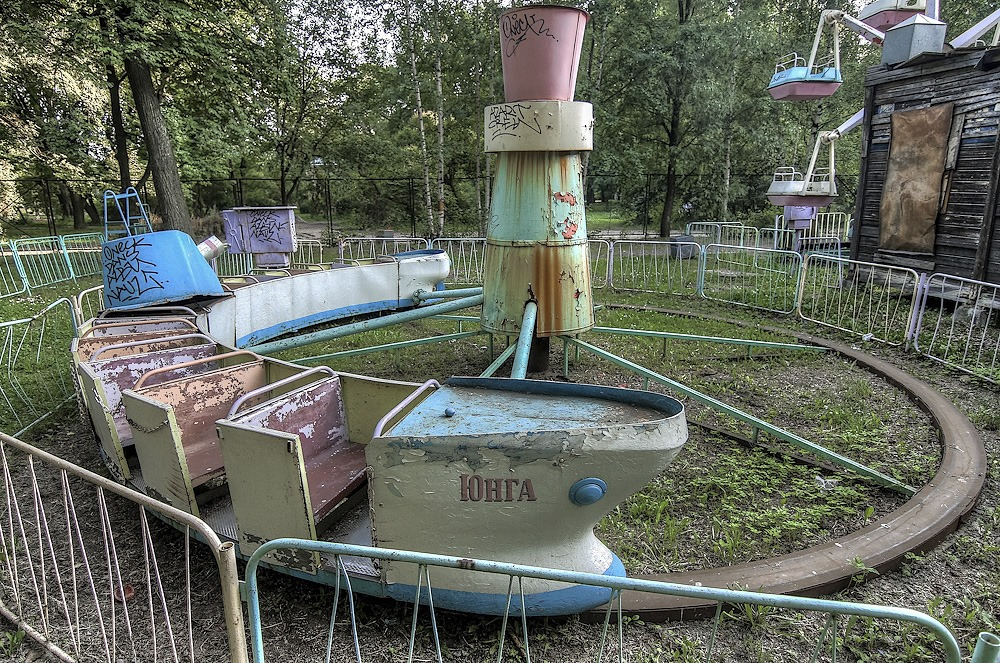 Lost childhood: Abandoned amusement park in Saint Petersburg - 09