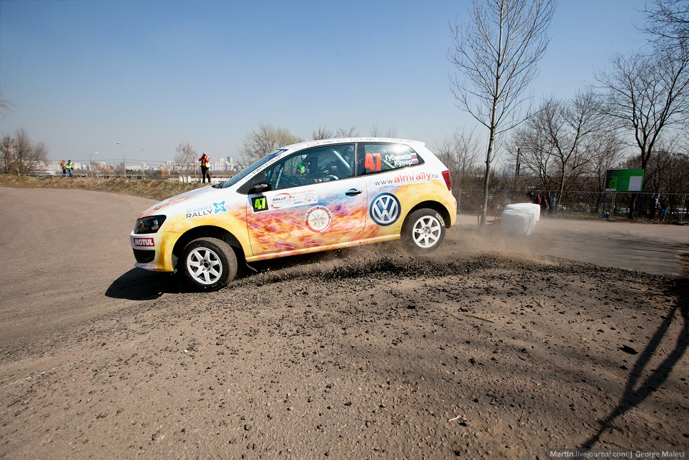 Photo report from the Rally Masters Show 2014 in Moscow - 30