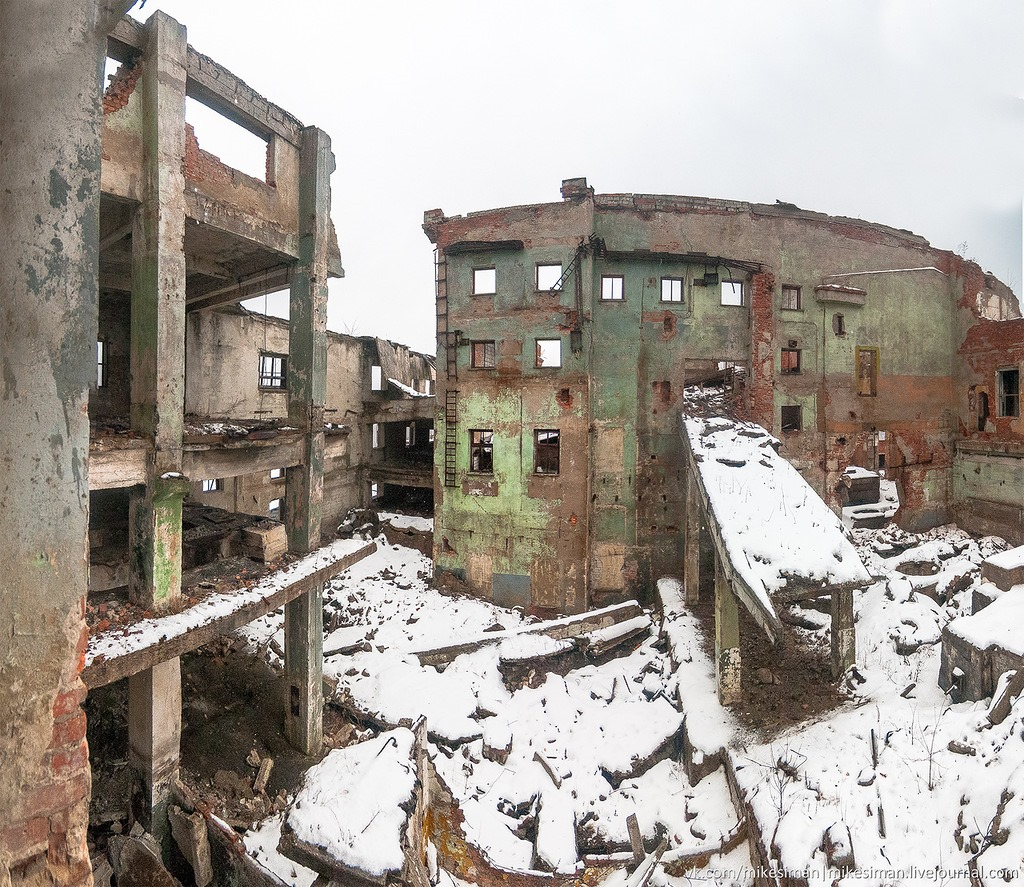 Ruins of abandoned Mining and Processing Plant Khrustalnensky - 20
