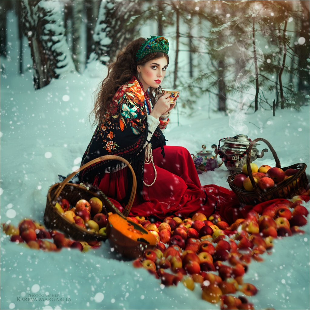 Women's worlds by Russian photographer Margarita Kareva - 01