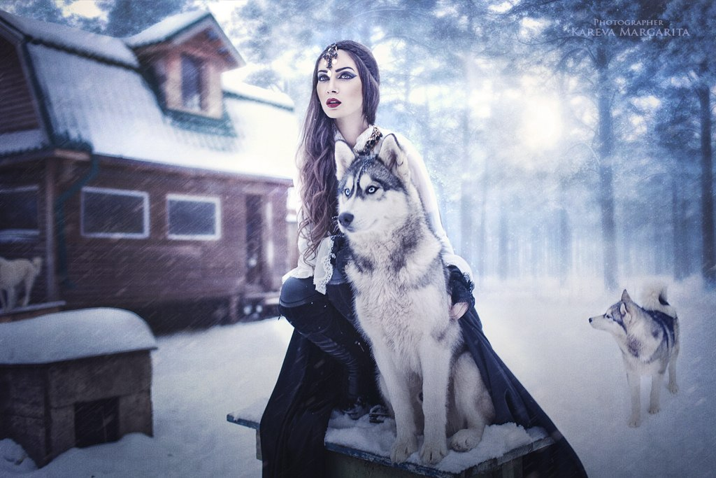 Magic women's worlds by Russian photographer Margarita Kareva - 58