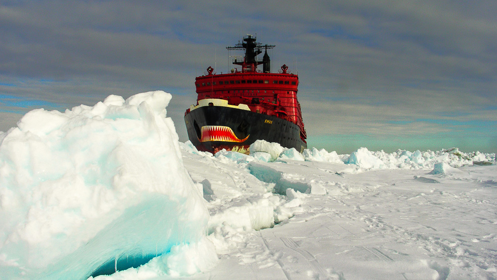 Breaking the ice: Russian nuclear powered icebreaker Yamal - 01