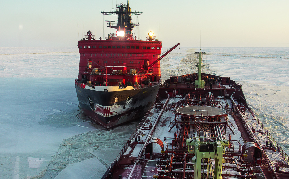 Breaking the ice: Russian nuclear powered icebreaker Yamal - 05