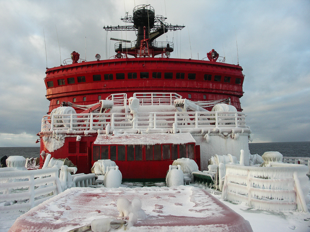 Breaking the ice: Russian nuclear powered icebreaker Yamal - 07