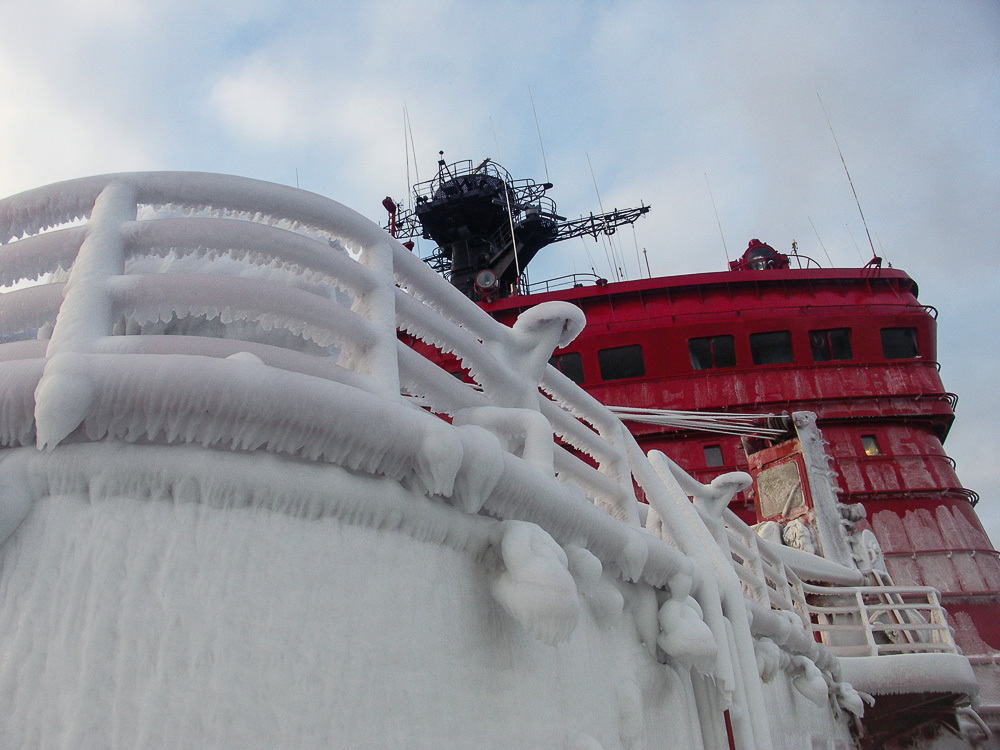 Breaking the ice: Russian nuclear powered icebreaker Yamal - 08