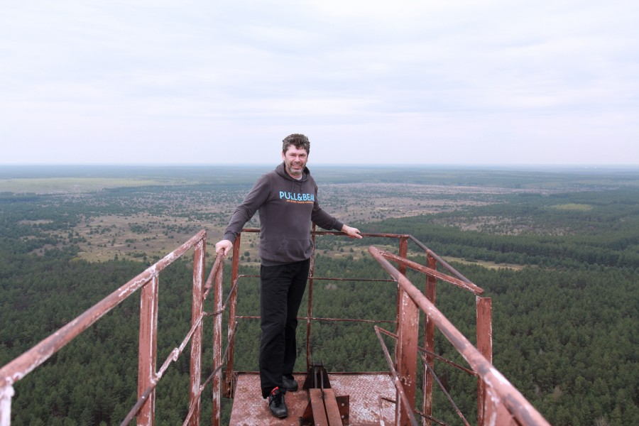 Climbing on Soviet over-the-horizon radar system Duga in Chernobyl - 18