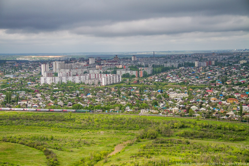 Climbing on top of the Motherland Calls Monument in Volgograd - 24