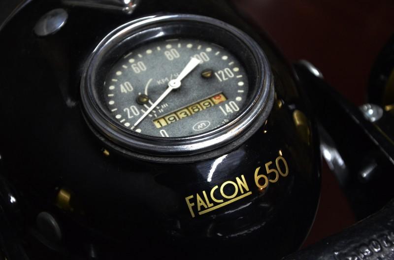 Falcon 650: Unique Belarusian design of an old Dnepr motorcycle - 08