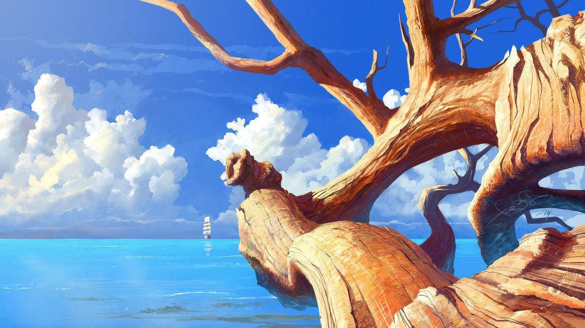 Snag and Sea