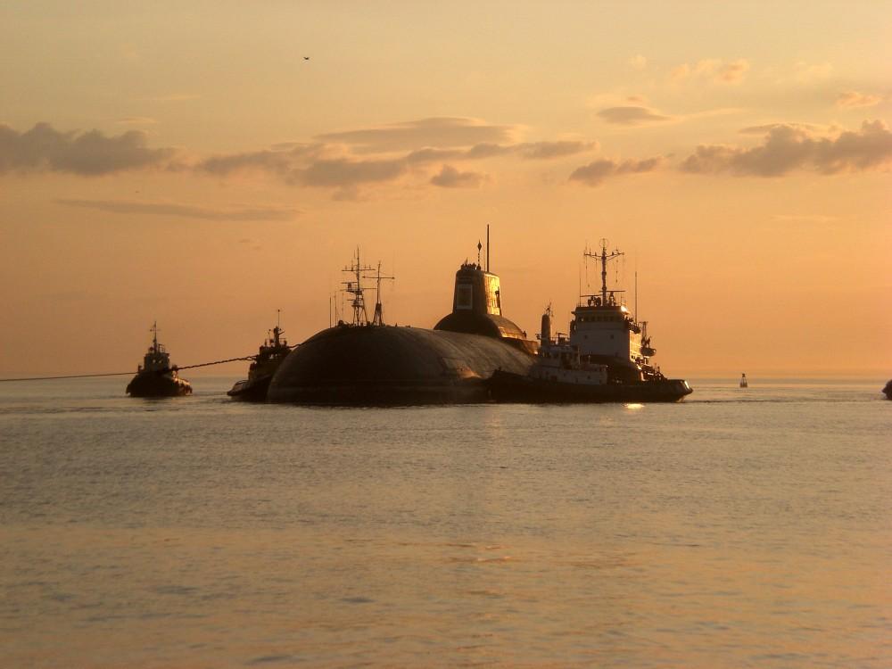 Inside a giant: Russian typhoon-class submarine TK-17 Arkhangelsk - 01