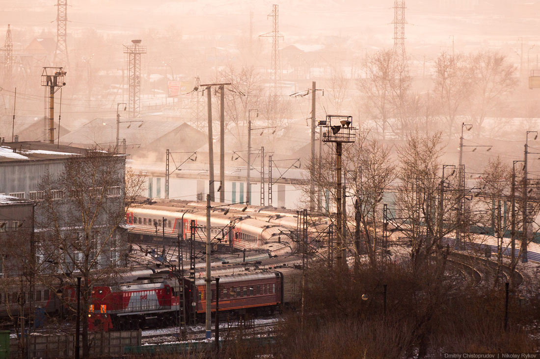 Irkutsk: A nice and at the same time a harsh cold Siberian city - 11