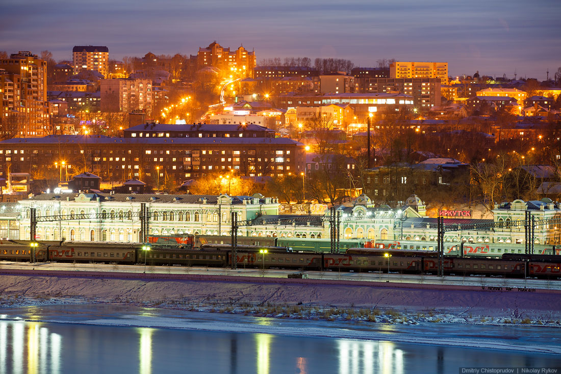 Irkutsk: A nice and at the same time a harsh cold Siberian city - 21