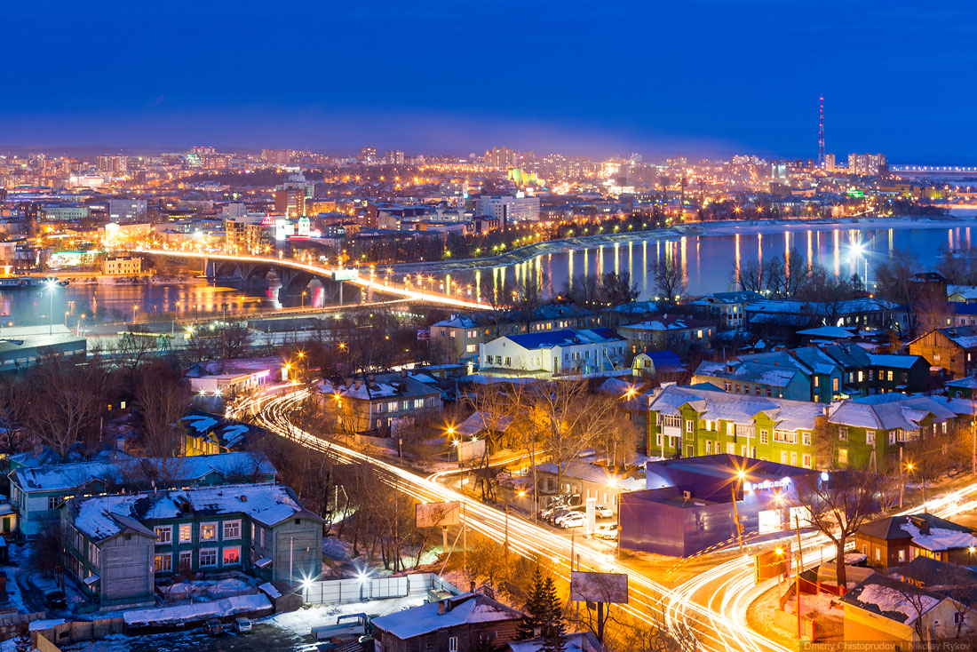 Irkutsk: A nice and at the same time a harsh cold Siberian city - 32