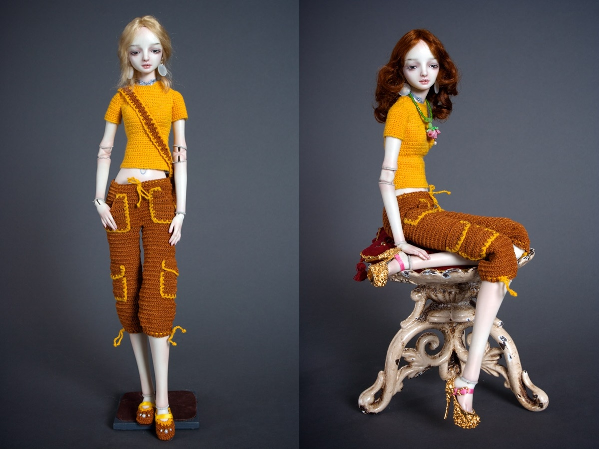 It is not the world of smiles: Enchanted Dolls by Marina Bychkova - 16