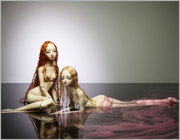 It is not the world of smiles: Enchanted Dolls by Marina Bychkova - 17
