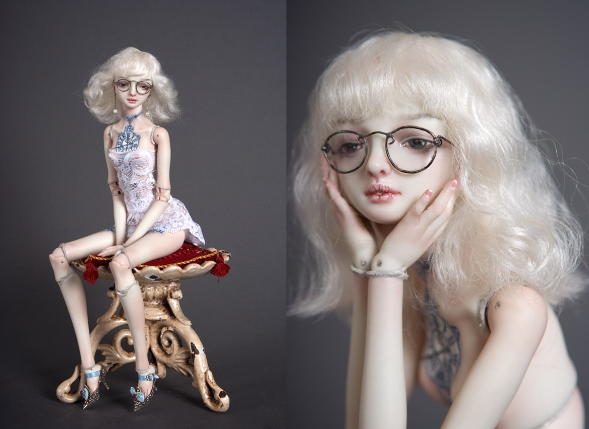 It is not the world of smiles: Enchanted Dolls by Marina Bychkova - 20