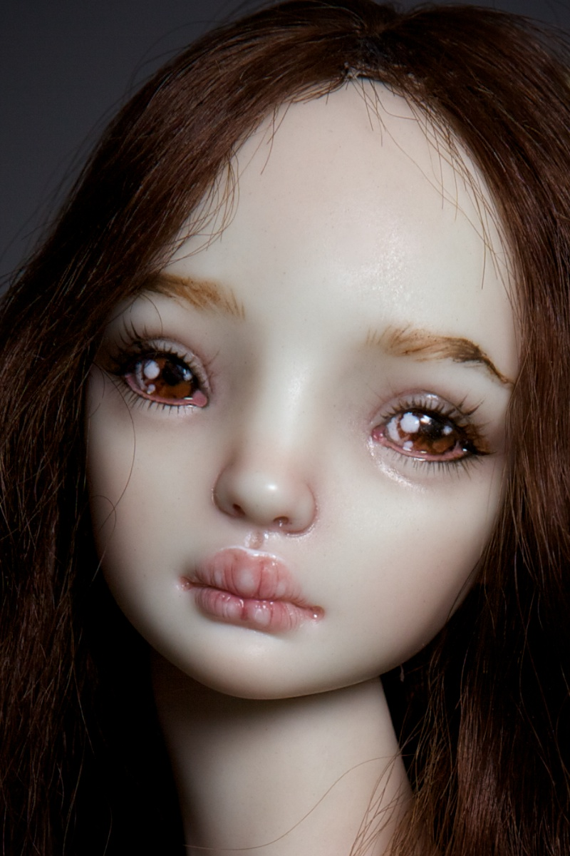 It is not the world of smiles: Enchanted Dolls by Marina Bychkova - 25