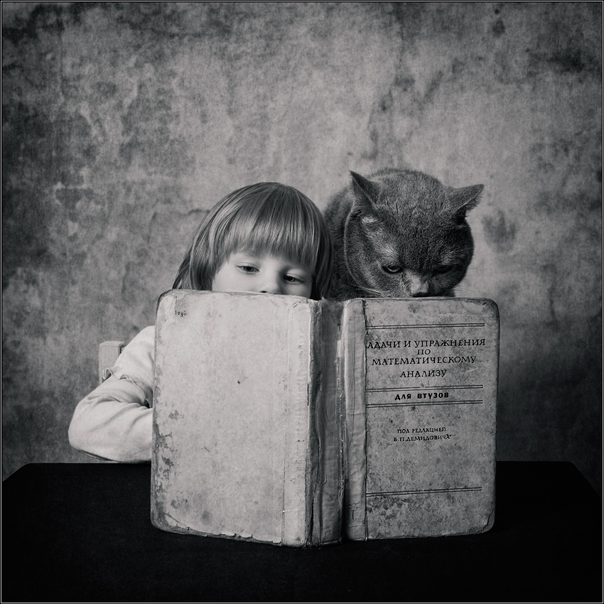 A little story about a big friendship between a girl and a cat - 10
