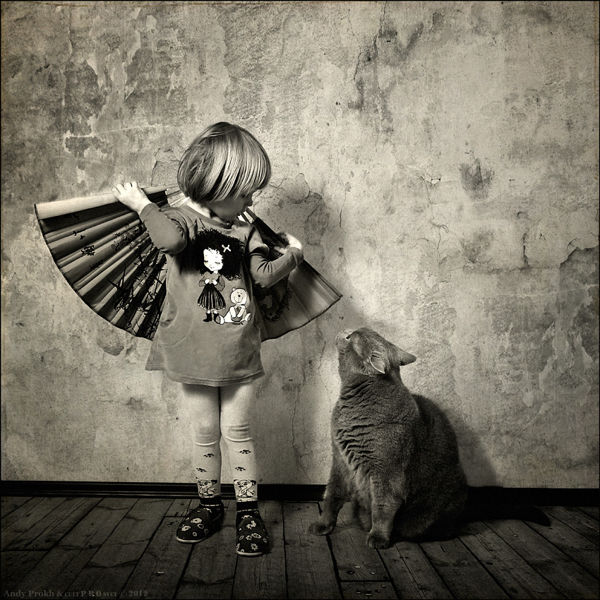 A little story about a big friendship between a girl and a cat - 30