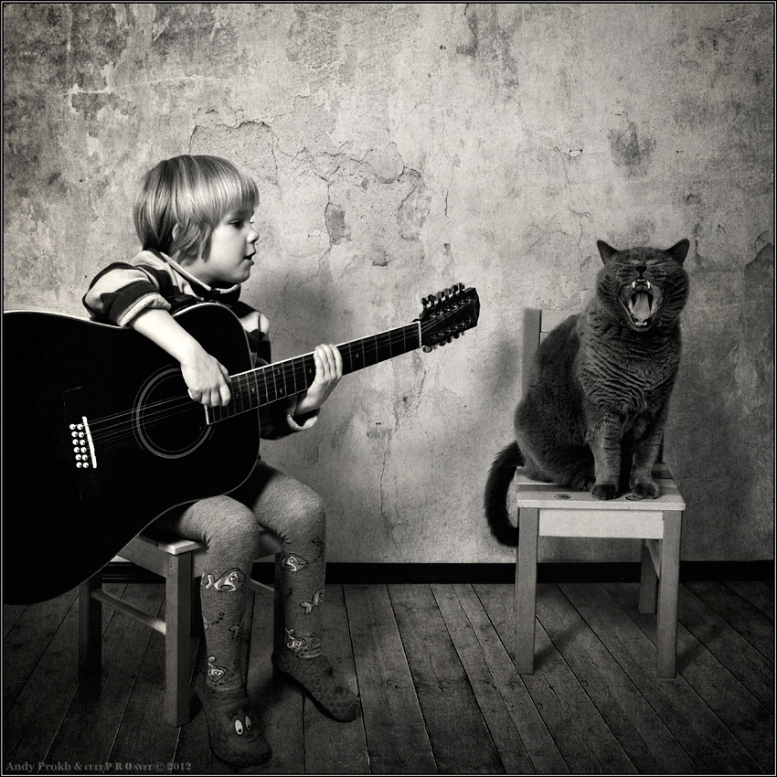 A little story about a big friendship between a girl and a cat - 40