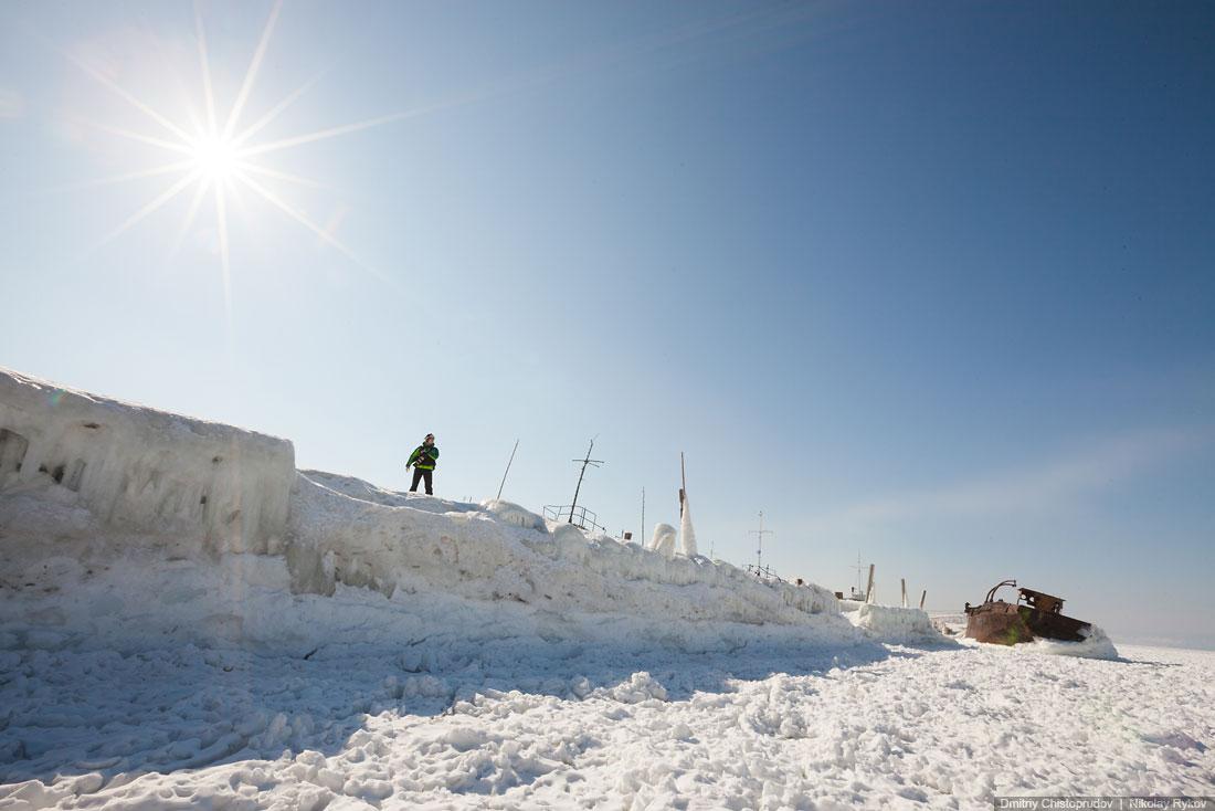 Lake Baikal and Olkhon Island: Wonderful ice world of cold Siberia - 19