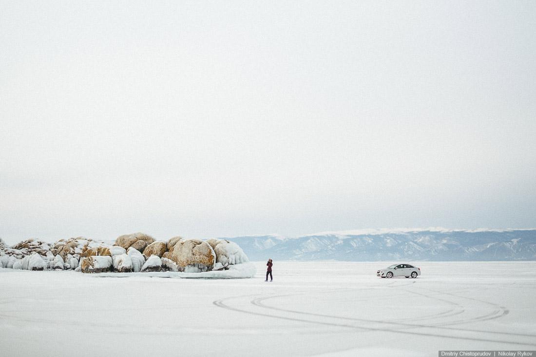 Lake Baikal and Olkhon Island: Wonderful ice world of cold Siberia - 20