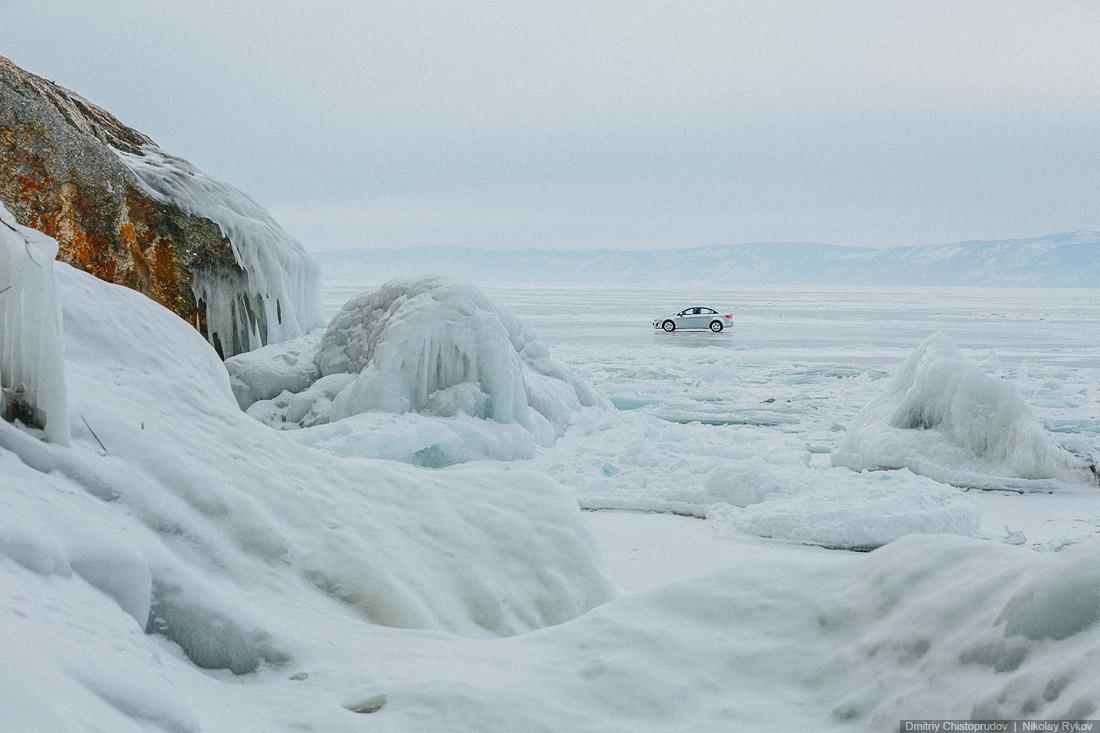 Lake Baikal and Olkhon Island: Wonderful ice world of cold Siberia - 24