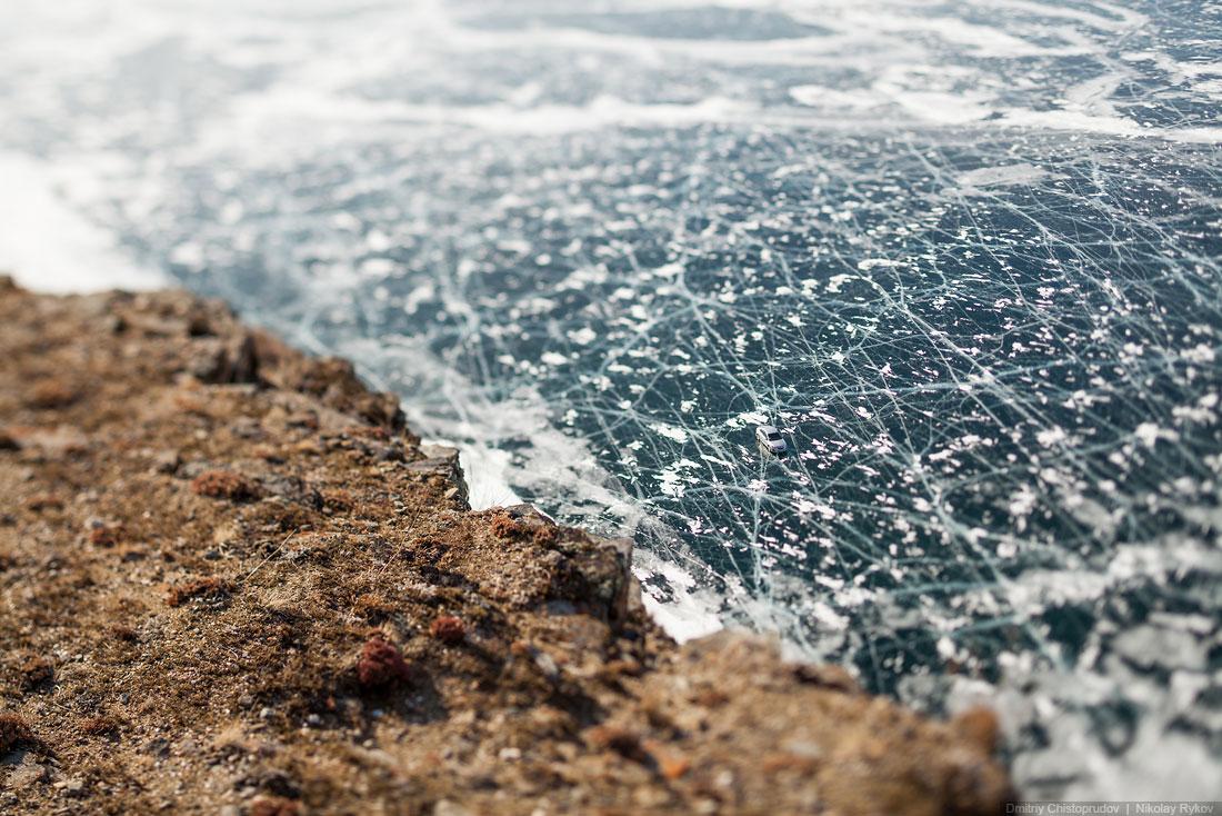 Lake Baikal and Olkhon Island: Wonderful ice world of cold Siberia - 27