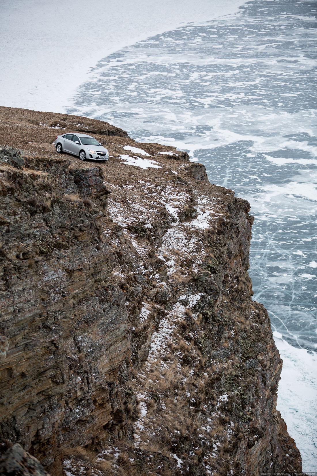 Lake Baikal and Olkhon Island: Wonderful ice world of cold Siberia - 28
