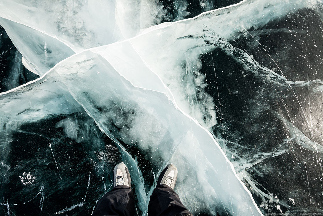 Lake Baikal and Olkhon Island: Wonderful ice world of cold Siberia - 32