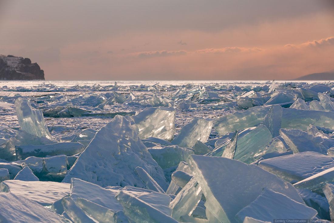 Lake Baikal and Olkhon Island: Wonderful ice world of cold Siberia - 35